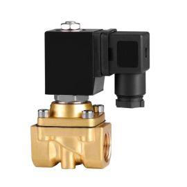 进口黄铜大口径电磁阀-DN50MM-图纸-技术文件
