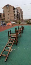 幼儿园户外攀爬架攀爬梯玩具/儿童户外防腐木玩具厂家