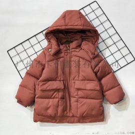 时尚保暖品牌童装**果棉服