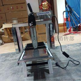 轻型电动切砖机加气块砖切割机台式电动切泡沫砖切割机