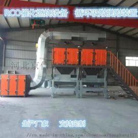 唐山印刷喷漆房吸附浓缩CO催化燃烧设备配置图片介绍