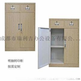 重庆钢制档案柜/金属文件柜 凭证柜密码柜