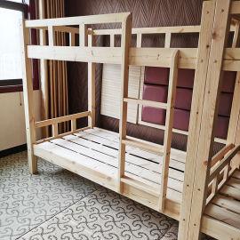 上下床学生上下铺郑州上下床实木高低床批发子母床定制