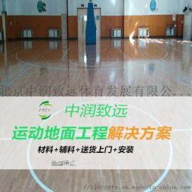 篮球场运动木地板多少钱一平米?