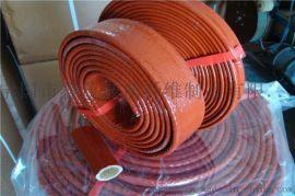 鑫茂牌玻璃纤维耐高温套管 热定型管 定纹管