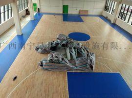 运动木地板,篮球木地板,广西南宁篮球场室内木地板