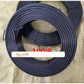 包塑金属扎丝 包塑绑丝塑料电线电缆用包塑铁芯铁丝