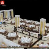 银行职工自助餐厅取餐台 自助餐台设计制作 高职餐厅移动式布菲台