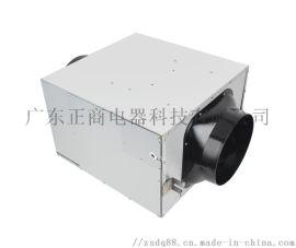 正商静音型送风机单向流新风系统管道风机1900风量