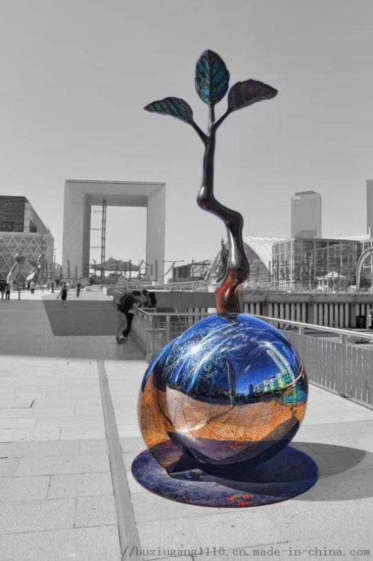 不锈钢城市雕塑,不锈钢雕塑