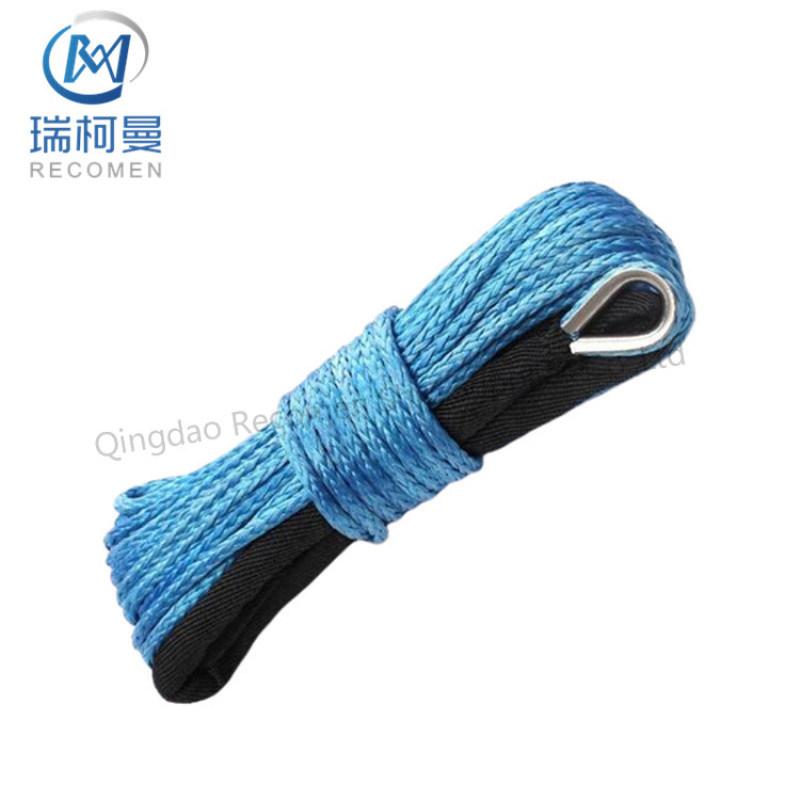 RCM12mm绞盘绳,越野救援专用拖车绳