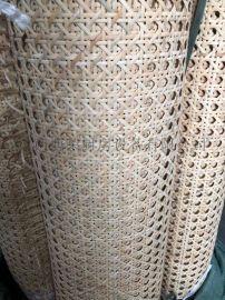 印尼天然藤编材料方格西笪有孔