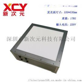 供应新次元工业级翻拍架无频闪灯箱