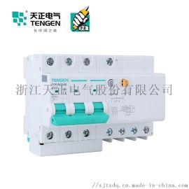 天正电气 空气开关 TGB1NLE-63 3P+N C 40A. 50A. 63A 30mA-300mA微型漏电保护断路器