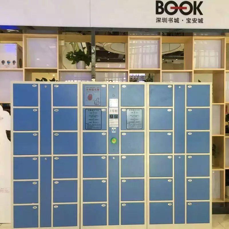 指紋存包櫃 深圳廠家直銷存包櫃 可定製存包櫃