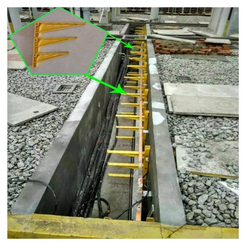 玉门玻璃钢耐腐蚀电缆托架 防火电缆支架