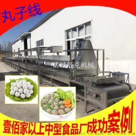 商用连续式丸子蒸煮机 不锈钢304制作