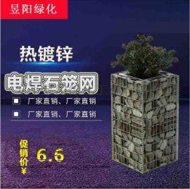 供应电焊石笼网箱 景观格宾网箱
