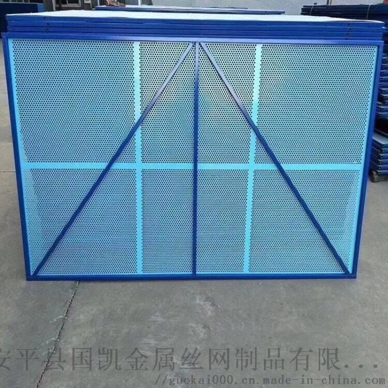 安平爬架网冲孔网 高层建筑  圆孔网