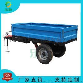 农用拖车自卸是拖拉机拖车