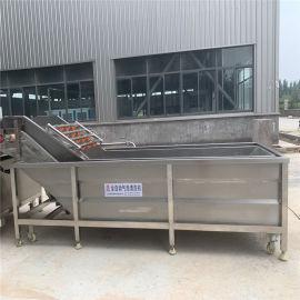 厂家供应果蔬气泡清洗机 喷淋式豆芽清洗机