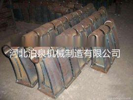 桥梁护栏支架 铸铁防撞保护栏 隔离设施护栏底座