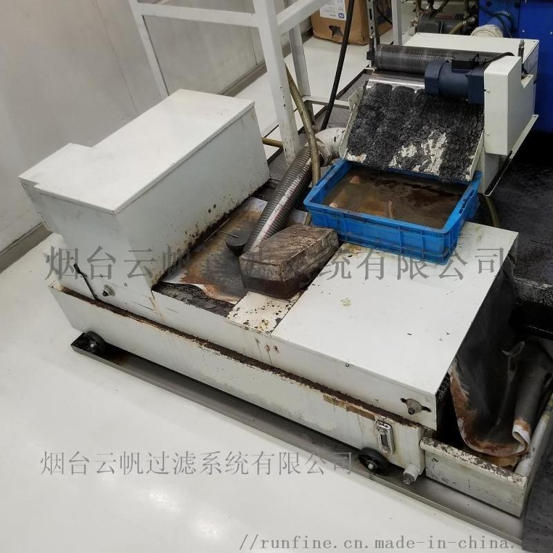 平网纸带过滤与磁性分离装置