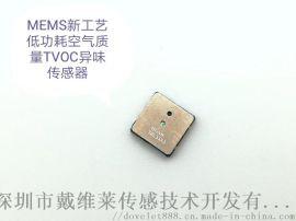 MEMS低功耗小体积贴片VOC空气质量传感器