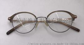 小框形精致淑女眼镜框架
