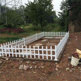 福建三明綠色pvc綠化護欄圖片 鄭州塑鋼草坪護欄廠家