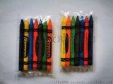 儿童蜡笔宁波平头蜡笔绘画填色彩色蜡笔绘画套装