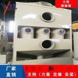 方形PP喷淋塔卧式高压废气处理设备