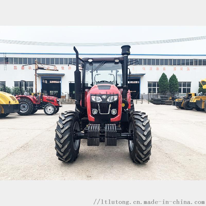 洛阳路通1404拖拉机强劲马力多地形复杂地形作业