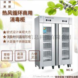 美厨双门消毒柜GB-2 光波消毒柜密胺餐具消毒柜