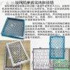 專買店防盜網菱形拉網鋁板,服裝店綠色拉網鋁單板