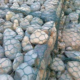 镀锌钢丝石笼网 河道水利工程六角格宾网 可定制