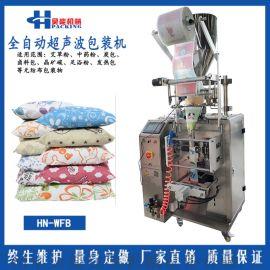 直销无纺布超声波冷封炭包机干燥剂包装机