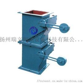 单层,双层双门翻板阀,重锤翻板阀,电动锁风翻板阀