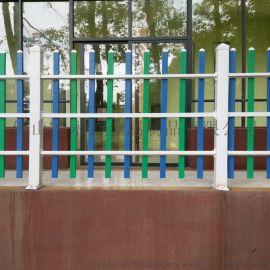河源塑钢护栏 PVC栅栏 草坪围栏 庭院护栏厂家
