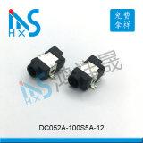 DC052 貼片有柱音頻插座