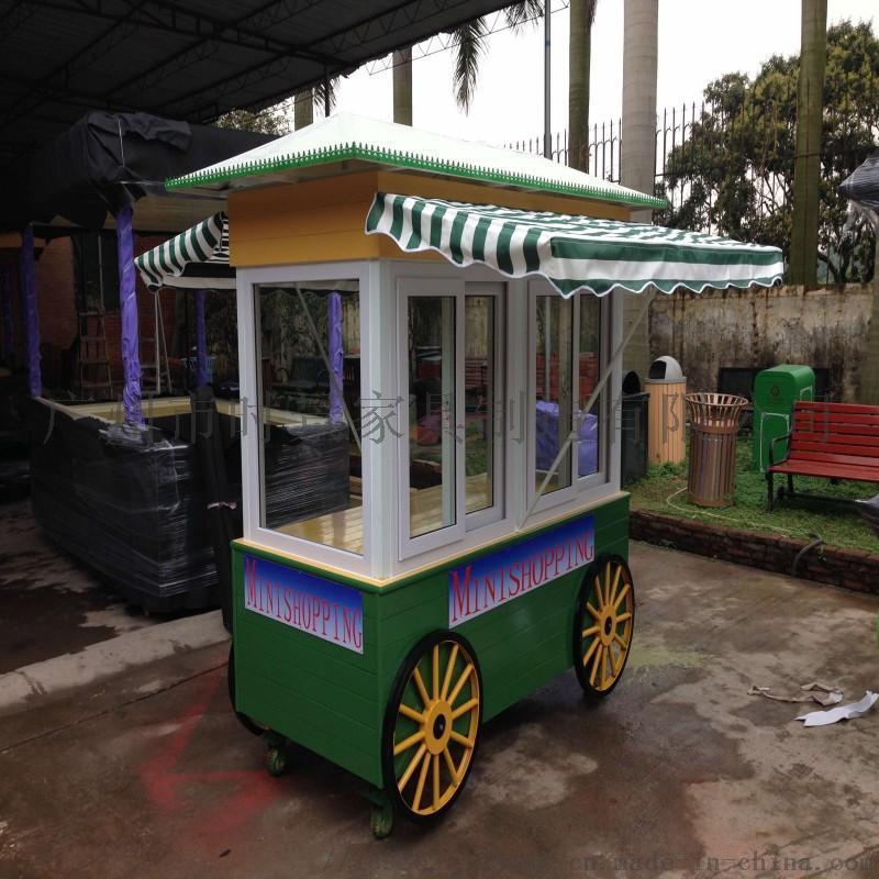 售 车 可爱移动小型便捷食品小餐车