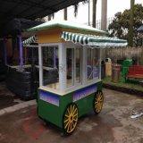 售賣車 可愛移動小型便捷食品小餐車