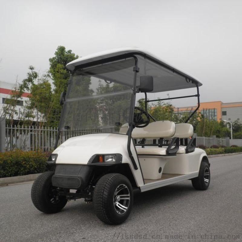 4座電動高爾夫球車 運動場專用車