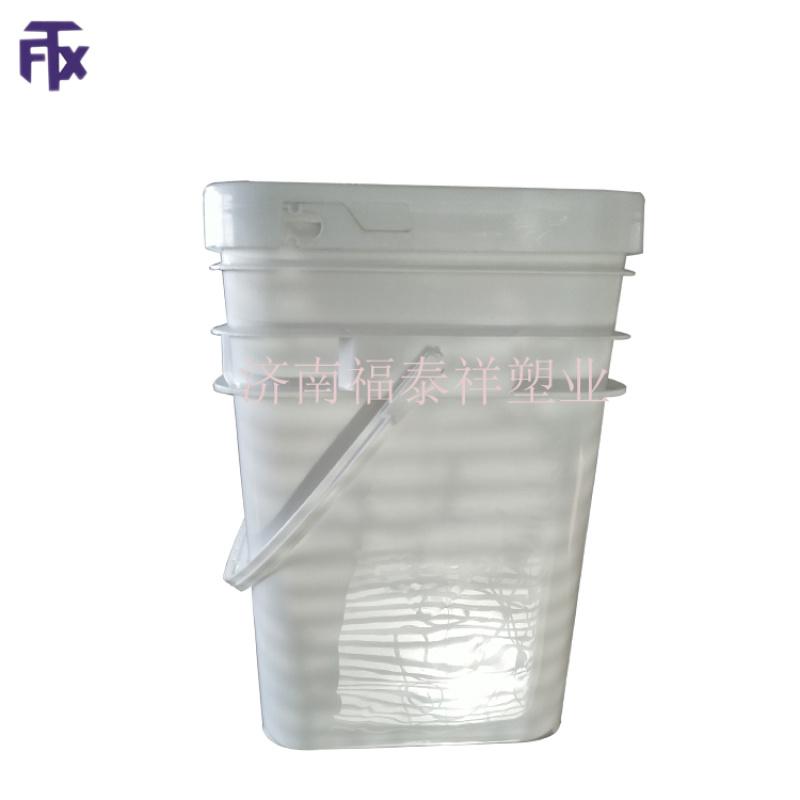 美式20L塑料方桶 大口20L方桶 方形涂料桶