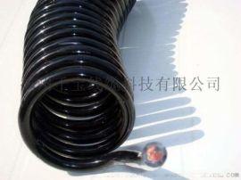 PVC螺旋电缆 千宝螺旋电缆