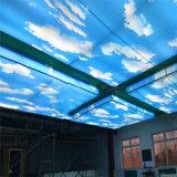 非主流彩绘铝单板吊顶 波浪纹山峰艺术打印铝单板