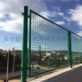 桥梁防抛网 高速公路防眩网 铁路框架护栏网