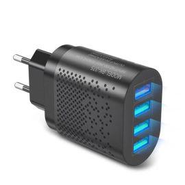 手机充电器多口欧规充电头USB3A快充