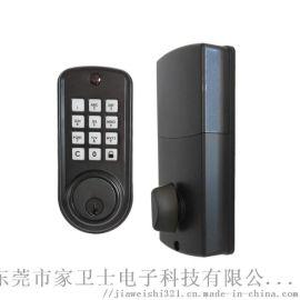 锌合金材质电子密码锁热销欧美电子闭锁