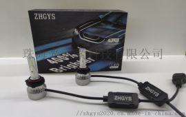 ZHGYS LED汽车前大灯 80W  14000LM H1 H4  H7  H11  9005   9006